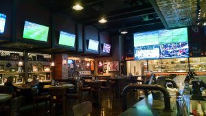 TV's at Tap